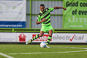 Forest Green Rovers Ethan Pinnock(16) clears the ball during the Vanarama National League match between Forest Green Rovers and Lincoln City at the New Lawn, Forest Green, United Kingdom on 19 November 2016. Photo by Shane Healey.