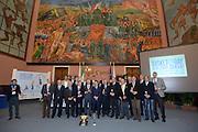 DESCRIZIONE : Roma Basket Day Hall of Fame 2013<br /> GIOCATORE : Blasetti Tonut Brunamonti Caglieris Riva Vecchiato Meneghin Bianchini Villalta Sacchetti Gilardi Costa Bonamico Pollini<br /> SQUADRA : FIP Federazione Italiana Pallacanestro <br /> EVENTO : Basket Day Hall of Fame 2013<br /> GARA : Roma Basket Day Hall of Fame 2013<br /> DATA : 09/12/2013<br /> CATEGORIA : Premiazione<br /> SPORT : Pallacanestro <br /> AUTORE : Agenzia Ciamillo-Castoria/GiulioCiamillo
