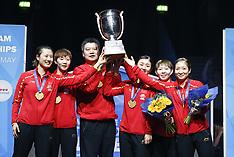 ITTF WORLD TEAM CHAMPIONSHIPS 2018 - 05 May 2018