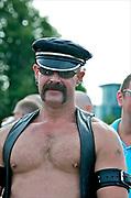 A man at Gay Pride, Brighton 2009