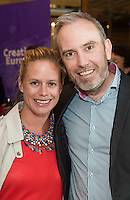 To celebrate 25 Years of MEDIA, The Creative Europe MEDIA Office Galway held the&nbsp;Creative Europe&nbsp;MEDIA Co-Production Dinner&nbsp;in Hotel Meyrick&nbsp;on Thursday the 7th of June as part of The&nbsp;Galway Film Fleadh.&nbsp;<br /> <br /> At the event was Julie Ryan - Vico films and <br /> Andrew Byrne - TV3 ireland.<br /> <br /> The networking dinner gives Fleadh goers&nbsp;privileged access to the world's leading film Financiers and a fantastic&nbsp;opportunity to network with European Producers and Film Fair Financiers. &nbsp;Creative Europe MEDIA Office Galway offers comprehensive information on the European Union's Creative Europe Programme, offering advice, support and information on Creative Europe funding support for the audiovisual industries including film, television and games.&nbsp; The regional office is also available to respond to queries by phone or email.&nbsp; In addition to providing one-to-one advice sessions and events throughout the year. &nbsp;<br /> <br /> For further information contact Eibhl&iacute;n N&iacute; Mhunghaile on 091 770728 or via email on&nbsp;eibhlin@creativeeuropeireland.eu&nbsp;<br />  Photo: Andrew Downes XPOSURE