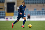 14th September 2019; Dens Park, Dundee, Scotland; Scottish Championship, Dundee Football Club versus Alloa Athletic; Kane Hemmings of Dundee