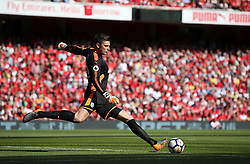"""Burnley goalkeeper Nick Pope during the Premier League match at the Emirates Stadium, London. PRESS ASSOCIATION Photo. Picture date: Sunday May 6, 2018. See PA story SOCCER Arsenal. Photo credit should read: Nick Potts/PA Wire. RESTRICTIONS: EDITORIAL USE ONLY No use with unauthorised audio, video, data, fixture lists, club/league logos or """"live"""" services. Online in-match use limited to 75 images, no video emulation. No use in betting, games or single club/league/player publications."""