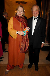 SIR KENNETH & LADY CARLISLE at a gala dinner for the Theatre Royal Bury St.Edmunds to celebrate the near completion of the restoration of the Grade 1 listed theatre, held at the Royal Academy, Piccadilly, London on 9th July 2007.<br /><br />NON EXCLUSIVE - WORLD RIGHTS