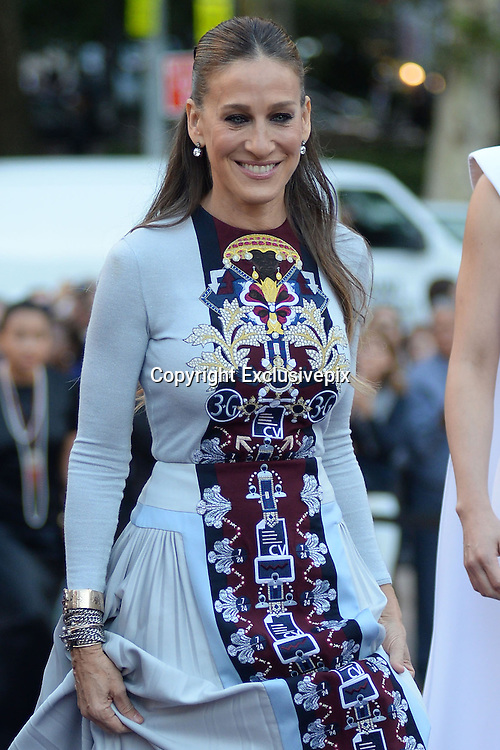 Sept. 23, 2014 - New York, NY, USA -<br /> <br /> Sarah Jessica Parker attending the New York City Ballet 2014 Fall Gala at David H. Koch Theater at Lincoln Center on September 23, 2014 in New York City<br /> ©Exclusivepix