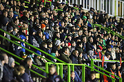 The East Stand at The New Lawn, home of Forest Green Rovers during the EFL Trophy group stage match between Forest Green Rovers and U21 Arsenal at the New Lawn, Forest Green, United Kingdom on 7 November 2018.