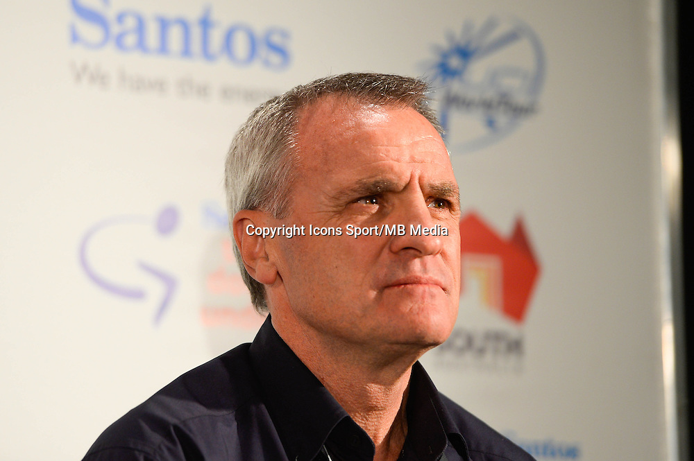 Mike Turtur - 17.01.2015 - Tour Down Under 2015 - Conference de presse - Adelaide<br /> Photo : Sirotti / Icon Sport