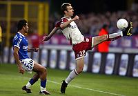 Fotball<br /> Frankrike 2003/04<br /> Strasbourg v Paris St. Germain<br /> 1. mai 2004<br /> Foto: Digitalsport<br /> NORWAY ONLY<br /> <br /> DANIEL LJUBOJA (PSG) / YACINE ABDESSADKI (STR)