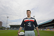 Dundee new boy Carl Finnigan..- © David Young - 5 Foundry Place - Monifieth - DD5 4BB - Telephone 07765 252616 - email; davidyoungphoto@gmail.com