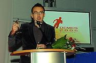 n/z.: Maciej Kurzajewski (TVP) podczas Gali Sport & Biznes w ramach Dni Marketingu Sportowego w Centrum Olimpijskim w Warszawie , Polska , Warszawa , 08-11-2006 , fot.: Adam Nurkiewicz / mediasport..Maciej Kurzajewski (TVP) during Sport & Business Gala during Sport's Marketing Days in Olympic Centre in Warsaw. November 08, 2006 ; Poland , Warsaw ( Photo by Adam Nurkiewicz / mediasport )
