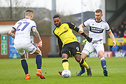 Burton Albion's Darren Bent during the EFL Sky Bet Championship match between Burton Albion and Middlesbrough at the Pirelli Stadium, Burton upon Trent, England on 2 April 2018. Picture by John Potts.