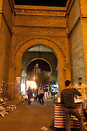 =the walls,  the entrance of the old medina  nations unis square casablanca morocco +