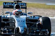 Circuito de Jerez, Spain : Formula One Pre-season Testing 2014. Kevin Magnussen (GBR), McLaren-Mercedes