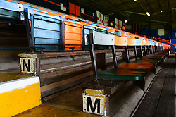 Old fashioned seats inside Kenilworth Road - Mandatory by-line: Alex James/JMP - 15/09/2018 - FOOTBALL - Kenilworth Road - Luton, England - Luton Town v Bristol Rovers - Sky Bet League One