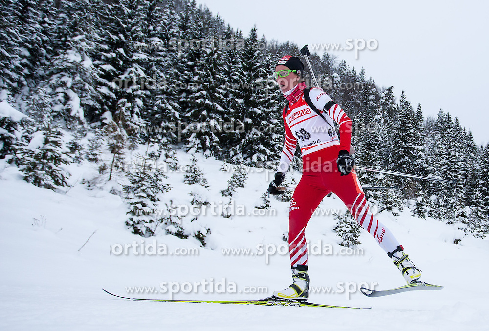 07.12.2012, Biathlonarena, Hochfilzen, AUT, E.ON IBU Weltcup, Sprint, Damen, im Bild Romana Schrempf (AUT) // Romana Schrempf of Austria  during #Womens sprint of E.ON IBU Biathlon World Cup at the Biathlonstadium in Hochfilzen, Austria on 2012/12/07. EXPA Pictures © 2012, PhotoCredit: .EXPA/ Juergen Feichter