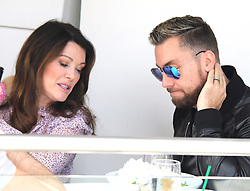 EXCLUSIVE: Lisa Vanderpump lunches with Lance Bass at her Villa Blanca Restaurant soon after she has been rumored to withdraw from RHOBH. 07 Nov 2018 Pictured: Lisa Vanderpump Lance Bass. Photo credit: APEX / MEGA TheMegaAgency.com +1 888 505 6342