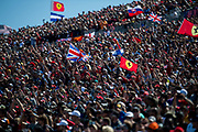 October 18-21, 2018: United States Grand Prix. Fans in the grandstands in Austin