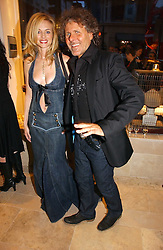 Actress HEATHER GRAHAM and RENZO ROSSO CEO of Diesel at the opening of the new Diesel shop at 130 New Bond Street, London W1 on 18th May 2006.<br /><br />NON EXCLUSIVE - WORLD RIGHTS