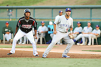 Matt Olson Stockton Ports - August 2014 - Lake Elsinore/Rancho Cucamonga Series