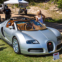 Automobiles displayed at the 2011 Santa Fe Concorso.