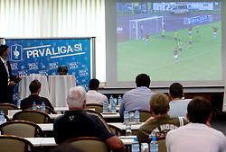 PrvaLiga draw before new football season 2011/2012 in Slovenia, on June 23, 2011, in Hotel Kokra, Brdo pri Kranju, Slovenia. (Photo by Vid Ponikvar / Sportida)
