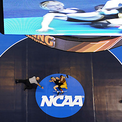 19 MAR 2011:  Anthony Robles of Arizona State University wrestles Matt McDonough of the University of Iowa during the Division I Men's Wrestling Championship held at the Wells Fargo Center in Philadelphia, PA.  Robles defeated McDonough 7-1 to win the 125 pound national title.  Drew Hallowell/ NCAA Photos