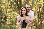Kristin & Alex's Sunny River Bluffs Engagement Session