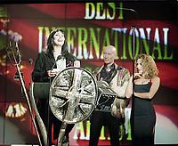 Cher. The BRIT Awards 1993 <br /> Tuesday 16 Feb 1993.<br /> Alexandra Palace, London, England<br /> Photo: John Marshall - JM Enternational