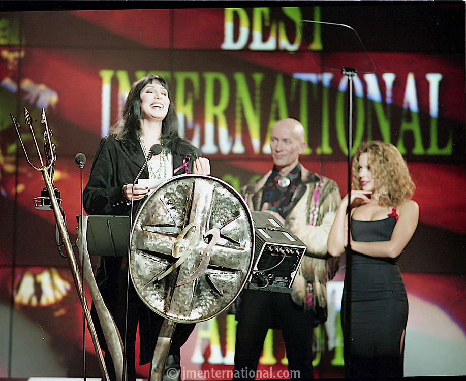 Cher. The BRIT Awards 1993 <br /> Tuesday 16 Feb 1993.<br /> Alexandra Palace, London, England<br /> Photo: John Marshall - JM Enternational