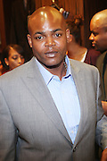 Harve Pierre at The Sean John Boutique on Fifth Ave on September 10, 2009  in New York City