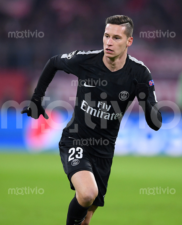 FUSSBALL CHAMPIONS LEAGUE SAISON 2017/2018 GRUPPENPHASE FC Bayern Muenchen - Paris Saint-Germain               05.12.2017 Julian Draxler (Paris Saint-Germain)