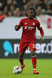 13.01.2019, Merkur Spiel Arena, Duesseldorf, GER, Telekom Cup, FC Bayern Muenchen vs Borussia Moenchengladbach, im Bild Renato Sanches (Muenchen) mit Ball // during the Telekom Cup Match between FC Bayern Muenchen and Borussia Moenchengladbach at the Merkur Spiel Arena in Duesseldorf, Germany on 2019/01/13. EXPA Pictures &copy; 2019, PhotoCredit: EXPA/ Eibner-Pressefoto/ Mario Hommes<br /> <br /> *****ATTENTION - OUT of GER*****