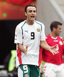 Dimitar Berbatov of Bulgaria.