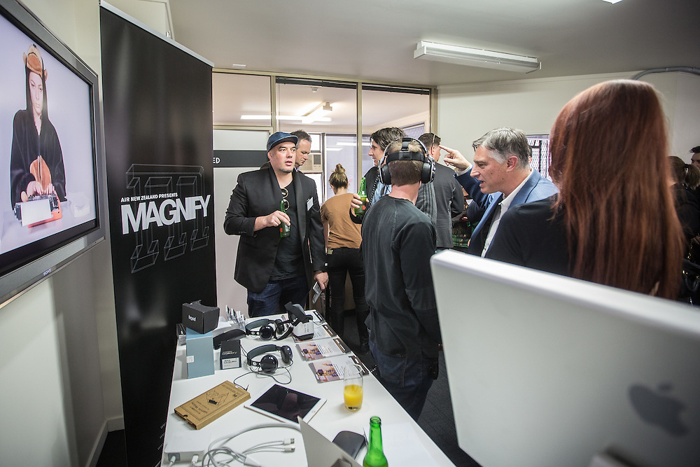AR/VR facility opening. Auckland. 2 September 2016 Photo:Gareth Cooke/Subzero Images