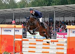 Naber Sander (NED) - Elion V<br /> 4 jarige Springpaarden<br /> KWPN Paardendagen Ermelo 2013<br /> © Dirk Caremans