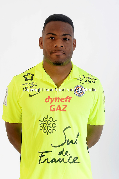 Jonathan LIGALI - 06.10.2015 - Photo officielle Montpellier - Ligue 1<br /> Photo : De Hullessen / Mhsc / Icon Sport