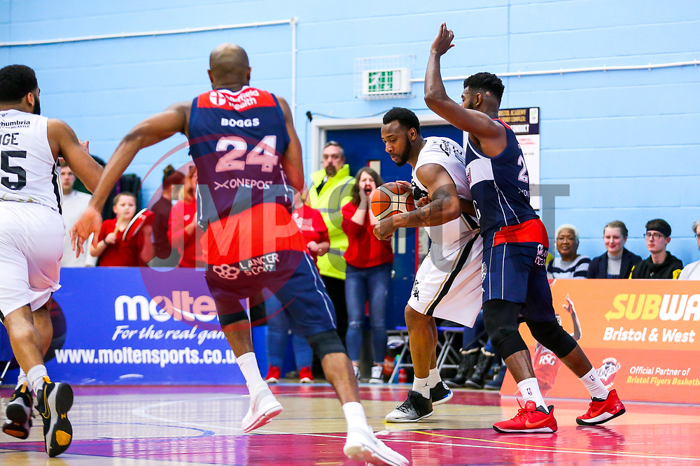 Jaysean Paige of Newcastle Eagles - Rogan/JMP - 06/01/2018 - BASKETBALL - SGS Wise Arena - Bristol, England. - Bristol Flyers v Newcastle Eagles - British Basketball League.