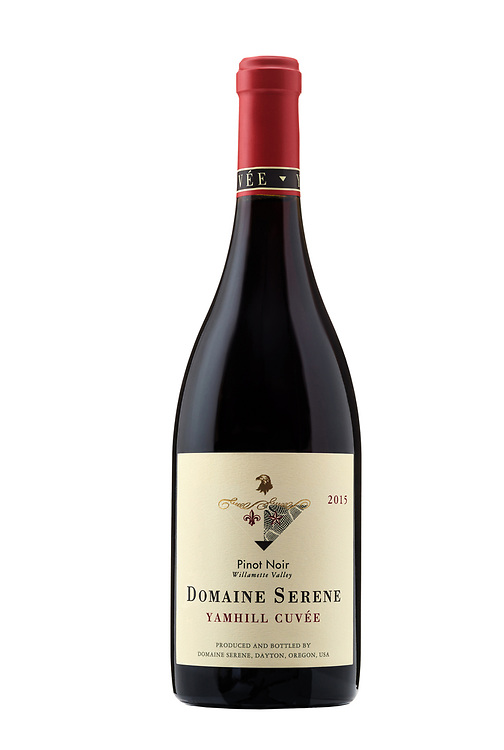 Bottle shot of Domaine Serene's Yamhill Cuvee vintage 2015