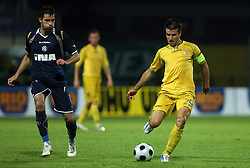 Luka Elsner  (29) of Domzale at 1st football game of 2nd Qualifying Round for UEFA Champions league between NK Domzale vs HNK Dinamo Zagreb, on July 30, 2008, in Domzale, Slovenia. Dinamo won 3:0. (Photo by Vid Ponikvar / Sportal Images)
