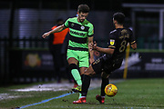 Forest Green Rovers Liam Shephard(2) during the EFL Sky Bet League 2 match between Forest Green Rovers and Mansfield Town at the New Lawn, Forest Green, United Kingdom on 29 January 2019.