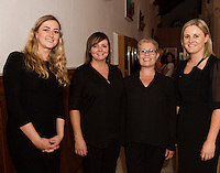 Midsummer Melodies, a concert of choral music with Marine Institute singers, SSE Airs which took  place in the Augustinian Church Galway . Proceeds to COPE Galway . at the event were Debbie Walsh, Siobhan Moran, Pauline O'Donoghue and Paula Hynes. Photo:Andrew Downes, xposure.