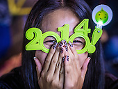 Ringing in 2014 in Ratchaprasong