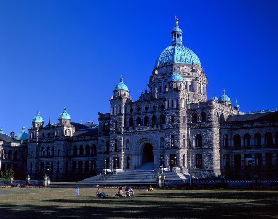 Parliament Building, Victoria,Vancouver Island, British Columbia, Canada
