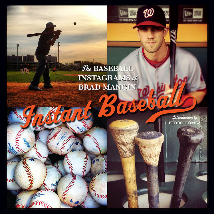 Instant Baseball (signed by Brad Mangin)<br />