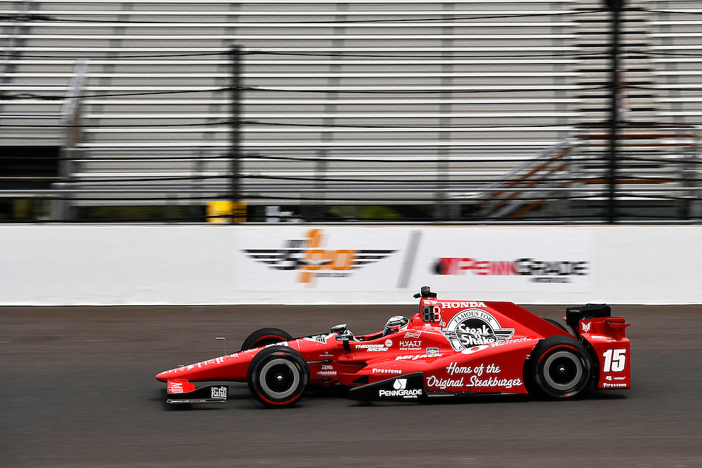 12-14 May, 2016, Indianapolis, Indiana, USA<br /> Graham Rahal<br /> &copy;2016, Scott R LePage <br /> LAT Photo USA