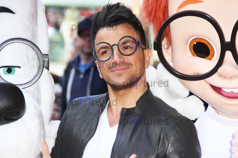 Mr peabody sherman gala screening celebrity and red carpet peter andre mr peabody sherman 3d vip gala screening vue leicester square m4hsunfo