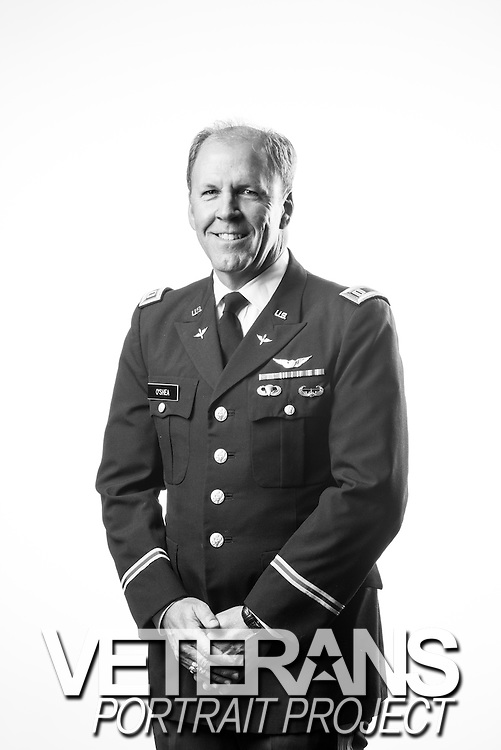 Barry O'Shea<br /> Army<br /> O-3<br /> Aviator (UH1)<br /> May 1983 - Aug. 1993<br /> <br /> Veterans Portrait Project<br /> Colorado Springs, CO