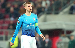 Per Mertesacker of Arsenal - Mandatory by-line: Robbie Stephenson/JMP - 23/11/2017 - FOOTBALL - RheinEnergieSTADION - Cologne,  - Cologne v Arsenal - UEFA Europa League Group H