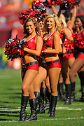 Tampa Bay Buccaneers cheerleaders during the Buccaneers 27-6 win over the Buffalo Bills at Raymond James Stadium on Dec. 8, 2013   in Tampa, Florida.        ©2013 Scott A. Miller