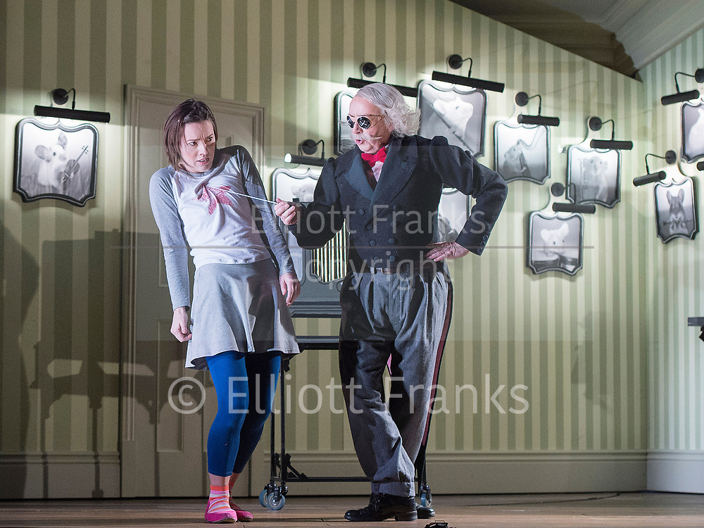 Coraline <br /> The Royal Opera production at The Barbican Theatre, London, Great Britain <br /> General Rehearsal <br /> 26th March 2018 <br /> (Press Night: Thursday 29 March at 7pm)<br /> <br /> Pictures EMBARGO'd until 2100hrs Thursday 29th March 2018 <br /> <br /> Music by Mark-Anthony Turnage<br /> <br /> Libretto by Rory Mullarkey after Neil Gaiman's Coraline<br /> <br /> Conductor Sian Edwards<br /> <br /> Directed Aletta Collins<br /> <br /> Set designed by Giles Cadle<br /> <br /> Costume designer Gabrielle Dalton<br /> <br /> Lighting designer Matt Haskins<br /> <br /> Mary Bevan as Coraline<br /> <br /> Harry Nicoll as Mr Bobo